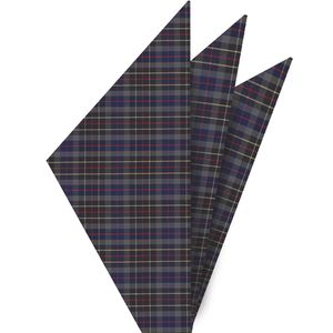 Brodie Tartan Cotton Pocket square #2