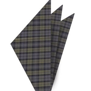 Gordon Tartan Cotton Pocket square #3