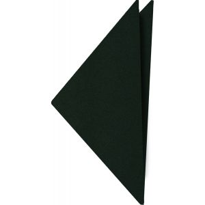 Forest Green Satin Silk Pocket Square