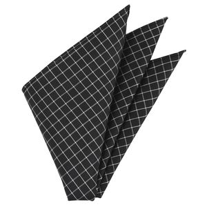 Thai Plaid Silk Pocket Square #20