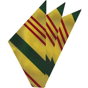 Vietnam Service Silk Pocket Square #AMP-14