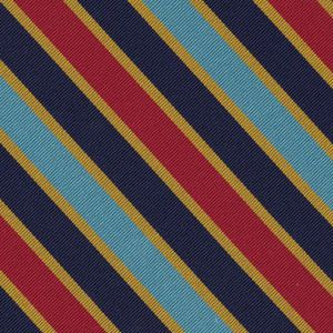 Navy & Marine Corps Overseas Ribbon Silk Pocket Square #AMP-13