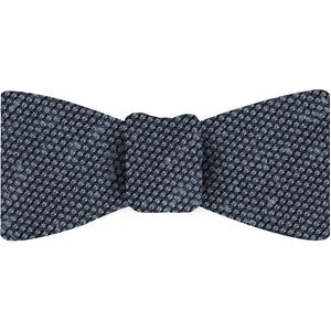 Powder Blue Shantung Grenadine Fina Silk Bow Tie #SHFBT-5