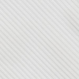 White Grosgrain Double Sided Silk Formal Scarf #GGRSCD-13