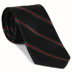 12th London Regiment Stripe Silk Tie #RGT-23