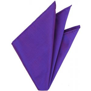 Reddish Purple Thai Silk Pocket Square #VPS-9