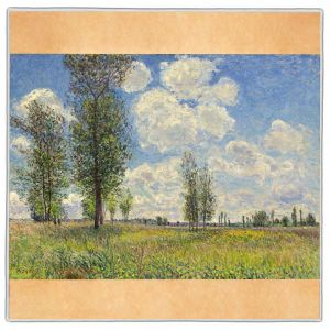 Alfred Sisley Pocket Square #18A