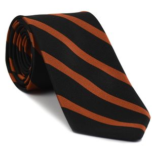 Princeton University Stripe Silk Tie #ACO-54