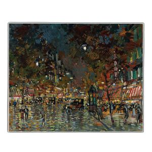 Paris at Night - Konstantin Korovin Pocket Rectangle #ARTR-21B