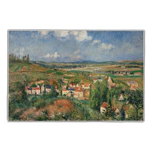 L'Hermitage en été, Pontoise - Camille Pissarro Pocket Rectangle #ARTR-24B
