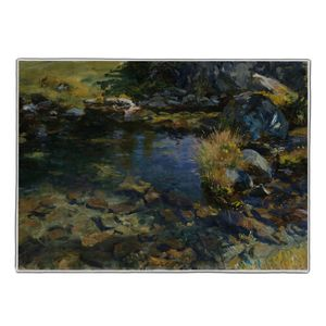 Alpine Pool - John Singer Sargent Pocket Rectangle #ARTR-26B