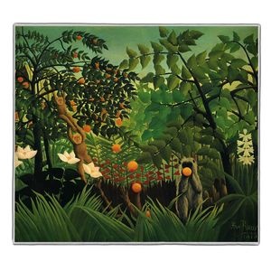 Exotic Landscape - Henri Rousseau Pocket Rectangle #ARTR-29B