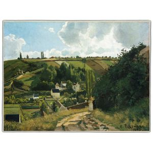 Camille Pissarro Pocket Rectangle #15
