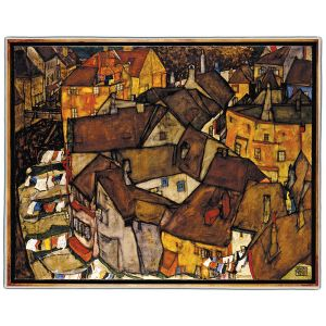 Egon Schiele Pocket Rectangle #7