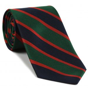 Royal Irish Fusiliers Stripe Silk Tie #RGT-25