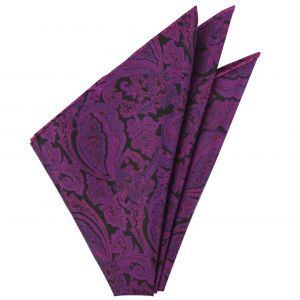 Thai Printed Silk Pocket Square #TRPS-60