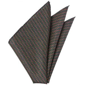 Thai Printed Silk Pocket Square #TRPS-47