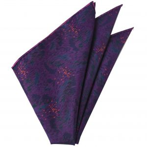 Thai Printed Silk Pocket Square #TRPS-62