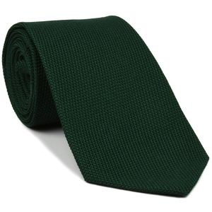 Forest Green Grenadine Fina Silk Tie #GFT-16