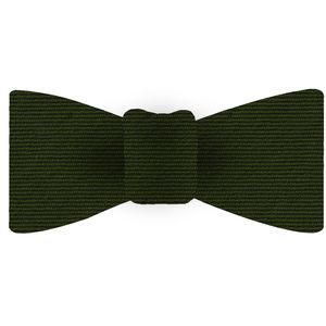 Forest Green Wool/Silk Bow Tie #GWSBT-14