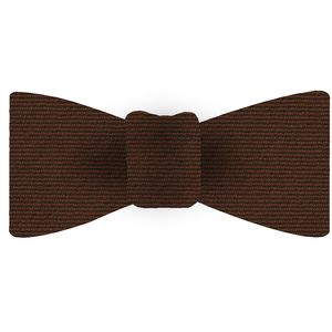 Burnt Orange Wool/Silk Bow Tie #GWSBT-15