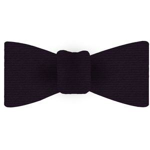 Purple Wool/Silk Bow Tie #GWSBT-6