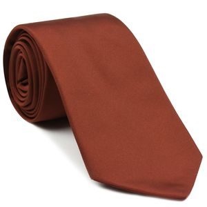 Burnt Orange Mogador Solid Tie #MGSOT-8