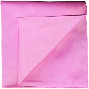 Sweet Pink Shot Thai Silk Pocket Square #25