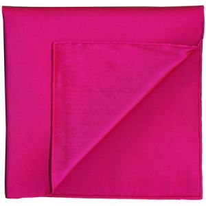 Fuchsia Shot Thai Silk Pocket Square #26