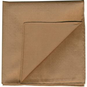 Brown Shot Thai Silk Pocket Square #33
