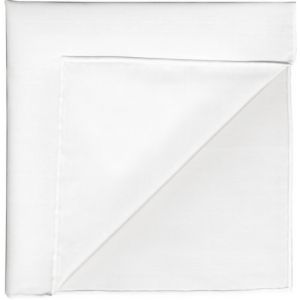 Natural White Thai Silk Pocket Square #43