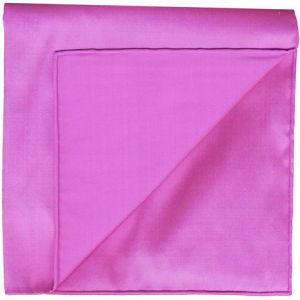 Pinkish Blue Shot Thai Silk Pocket Square #1