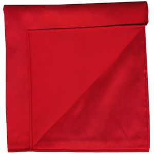 Red Shot Thai Silk Pocket Square #5