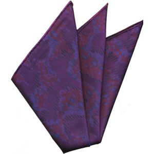 Sangdao Printed Thai Silk Pocket Square #20