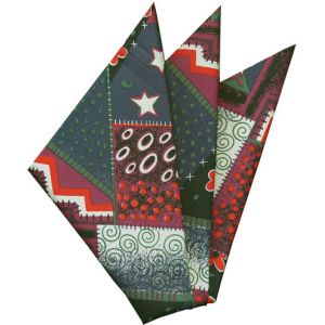 Printed Silk Pocket Square #30