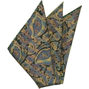 Thai Printed Silk Pocket Square #53