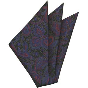 Thai Printed Silk Pocket Square #57
