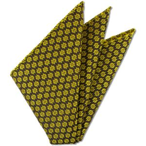 Thai Brocade Silk Pocket Square # 1
