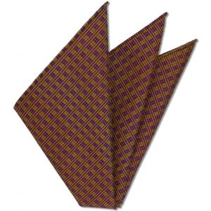 Thai Brocade Silk Pocket Square # 2