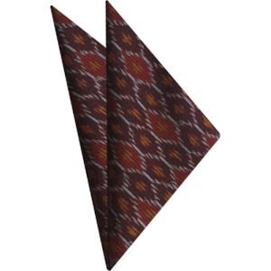 Mudmee Silk Pocket Square # 11