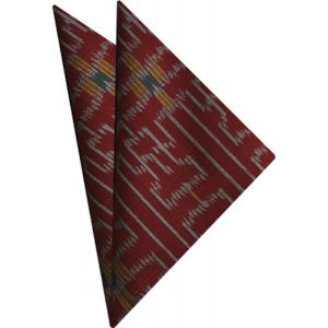 Mudmee Silk Pocket Square # 17