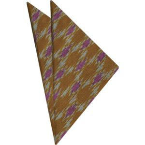 Mudmee Silk Pocket Square # 45