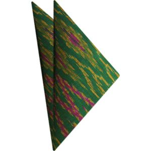 Mudmee Silk Pocket Square # 60