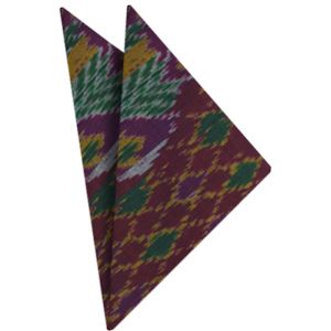Mudmee Silk Pocket Square # 67