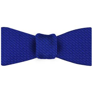 Royal Blue Grenadine Grossa Silk Bow Tie #14