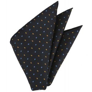 Macclesfield Printed Silk Pocket Square #32