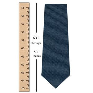 63.1 through 65 Inches (160.1 through 165 Centimeters) Tie Length