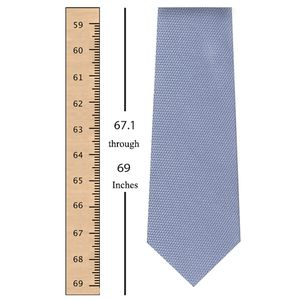 67.1 through 69 Inches (170.3 through 175.2 Centimeters) Tie Length