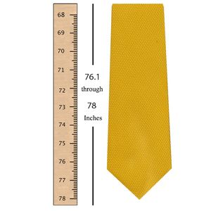 76.1 through 78 Inches (193.1 through 198 Centimeters) Tie Length