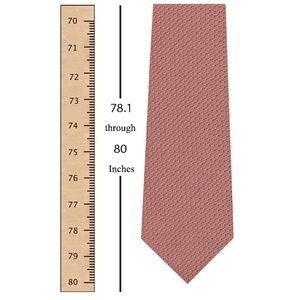 78.1 through 80 Inches (198.1 through 203.2 Centimeters) Tie Length